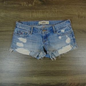Hollister womens cutoff jeans shorts womens 1/25